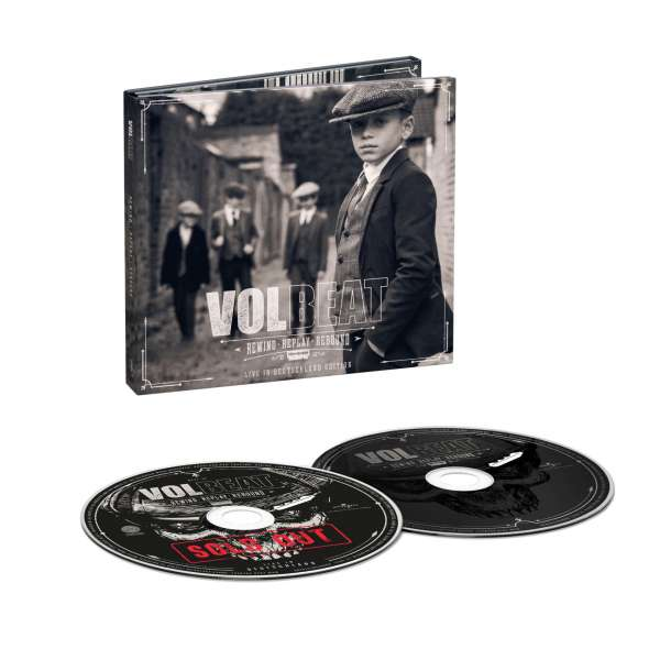 Volbeat - CD REWIND, REPLAY, REBOUND: LIVE IN DEUTSCHLAND / BEST OF