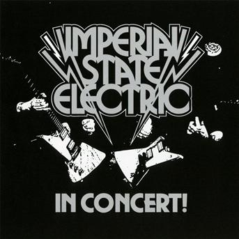 CD IMPERIAL STATE ELECTRIC - IN CONCERT
