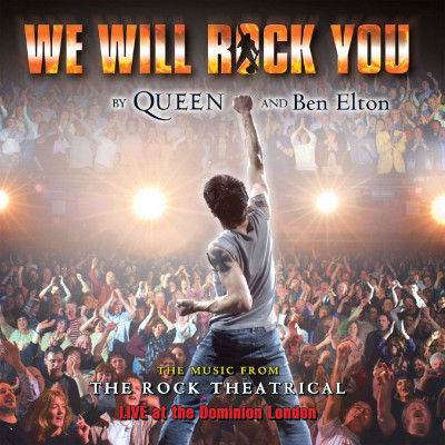 CD VARIOUS ARTISTS - WE WILL ROCK YOU