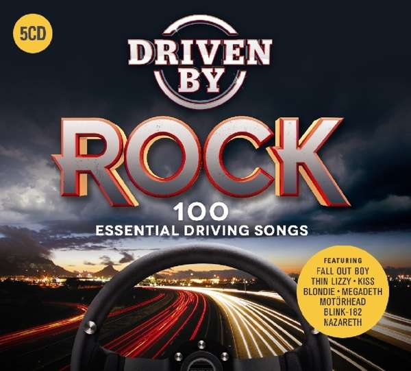 CD V/A - DRIVEN BY ROCK: 100 ESSENTIAL DRIVING SONGS