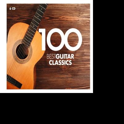 CD VARIOUS ARTISTS - 100 BEST GUITAR CLASSICS (2016)