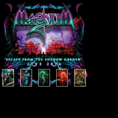 CD MAGNUM - ESCAPE FROM THE SHADOW GARDEN - LIVE 2014