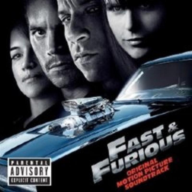 Soundtrack - CD FAST AND FURIOUS - Rychlí a zběsilí