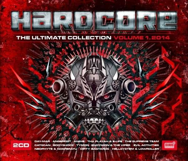 CD V/A - HARDCORE THE ULTIMATE COLLECTION VOL.1 2014