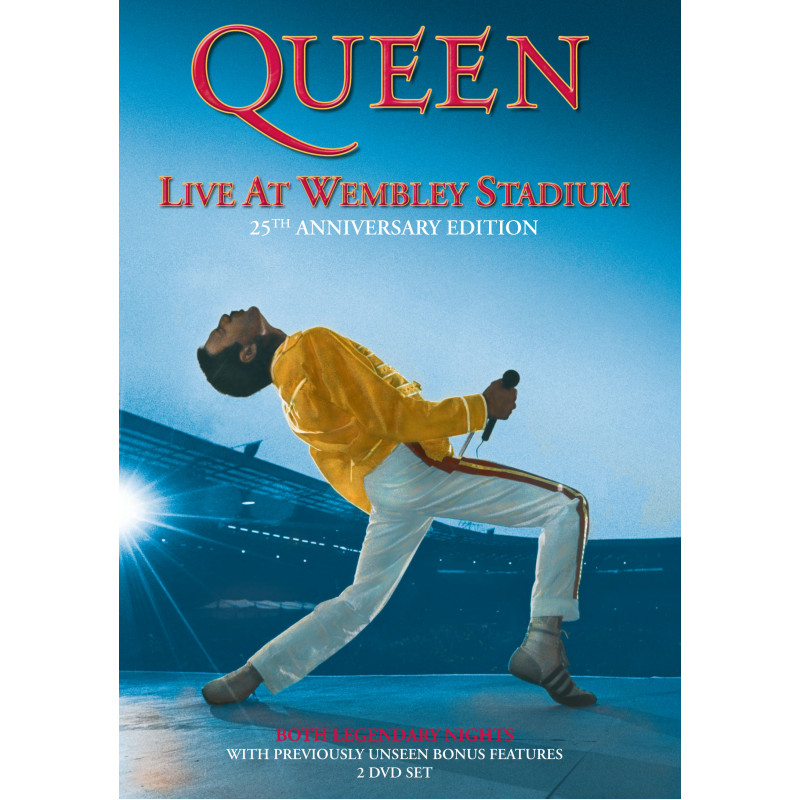 Queen - DVD LIVE AT WEMBLEY STADIUM