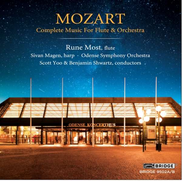 CD MOZART, W.A. - COMPLETE MUSIC FOR FLUTE & ORCHESTRA