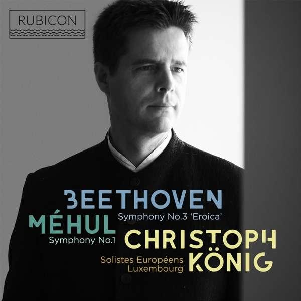 CD BEETHOVEN/MEHUL - SYMPHONY NO.3 EROICA/SYMPHONY NO.1