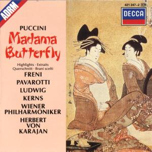 CD KARAJAN/WPH - MADAME BUTTERFLY-VYBER