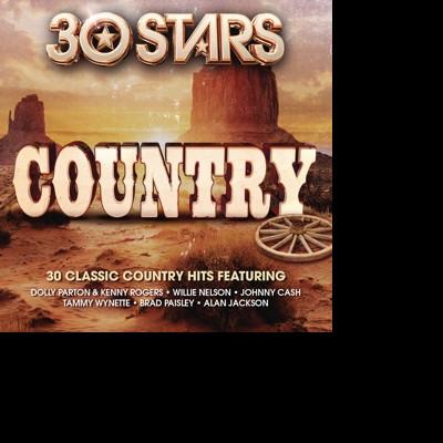 CD V/A - 30 Stars: Country
