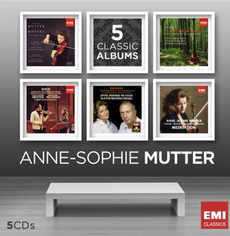 CD MUTTER, ANNE-SOPHIE - ANNE-SOPHIE MUTTER-FIVE IN ONE