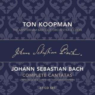 CD KOOPMAN, TON - COMPLETE BACH CANTATAS VOL. 1-22