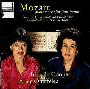 CD MOZART, W.A. - PIANO MUSIC FOR FOUR HANDS