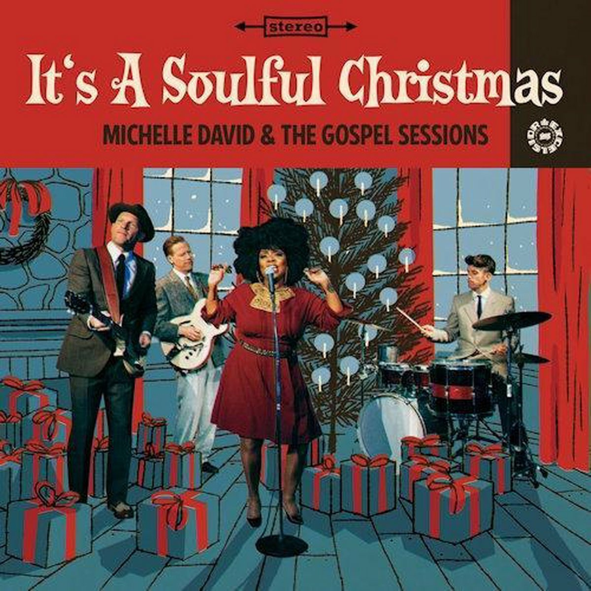 CD DAVID, MICHELLE & THE GOS - IT'S A SOULFUL CHRISTMAS