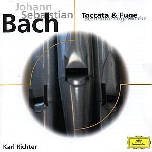 CD BACH, J.S. - TOCCATAS & FUGES
