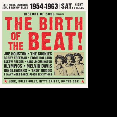 CD V/A - BIRTH OF THE BEAT 1954-1963