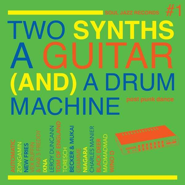 CD V/A - TWO SYNTHS, A GUITAR (AND) A DRUM MACHINE