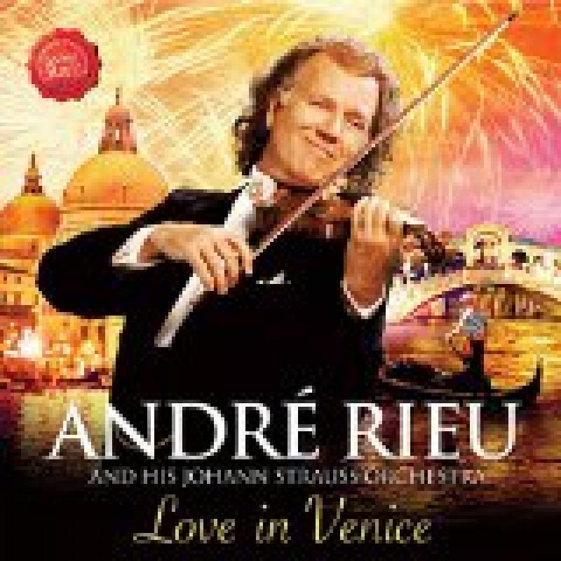 Blu-ray RIEU ANDRE - LOVE IN VENICE