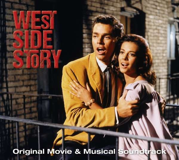 OST - CD WEST SIDE STORY - ORIGINAL MOVIE & MUSICAL SOUNDTRACK