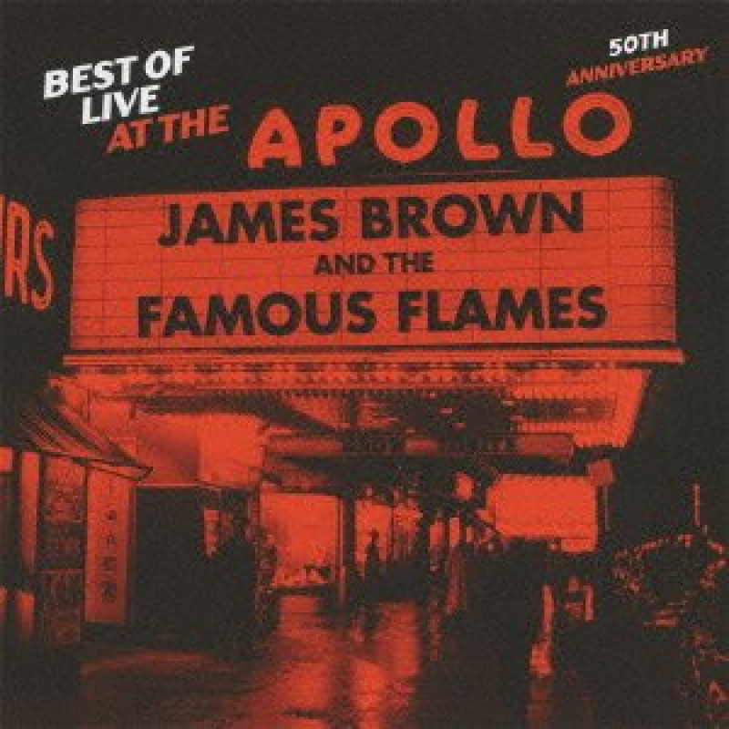 CD BROWN JAMES - LIVE AT APOLLO-BEST OF - 50th anniversary