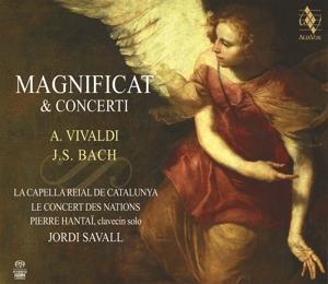 CD VIVALDI/BACH - MAGNIFICAT & CONCERTI