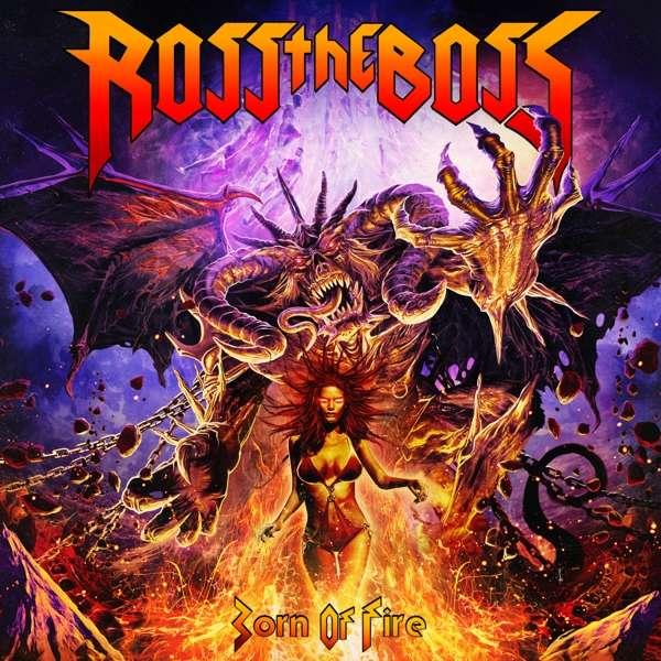 CD ROSS THE BOSS - BORN OF FIRE