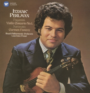 CD PERLMAN/FOSTER/ROYAL PHILHARMONIC ORCHES - PAGANINI: VIOLIN CONCERTO NO. 1, SARASATE: SPANISH FANTASY