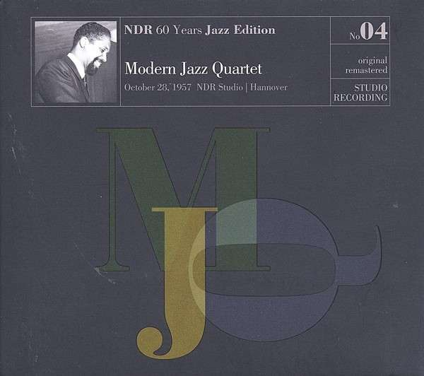 CD MODERN JAZZ QUARTET - NDR 60 YEARS JAZZ EDITION VOL.4 STUDIO RECORDING 2