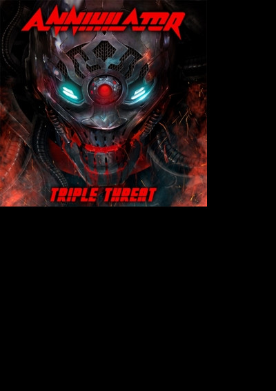 Blu-ray ANNIHILATOR - TRIPLE THREAT (BLU-RAY+2CD)