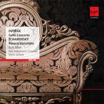 CD MORK/JANSONS/LONDON PHILHARMONIC - RED LINE - CELLO CONCERTO / ROCOCO VARIATIONS /