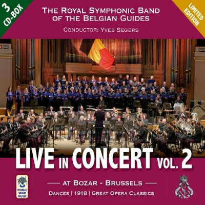 CD ROYAL SYMPHONIC BAND OF THE BELGIAN GUIDES - LIVE IN CONCERT VOL.2