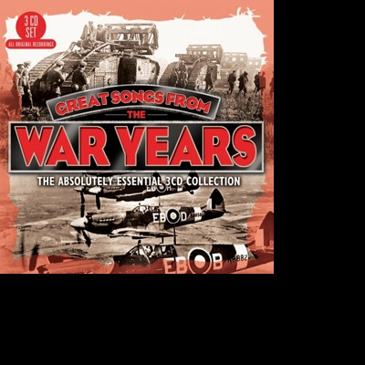 CD V/A - GREAT SONGS FROM THE WAR