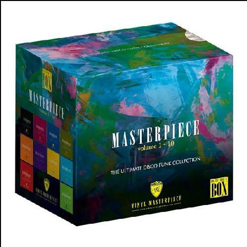 CD V/A - MASTERPIECE THE ULTIMATE DISCO COLLECTION