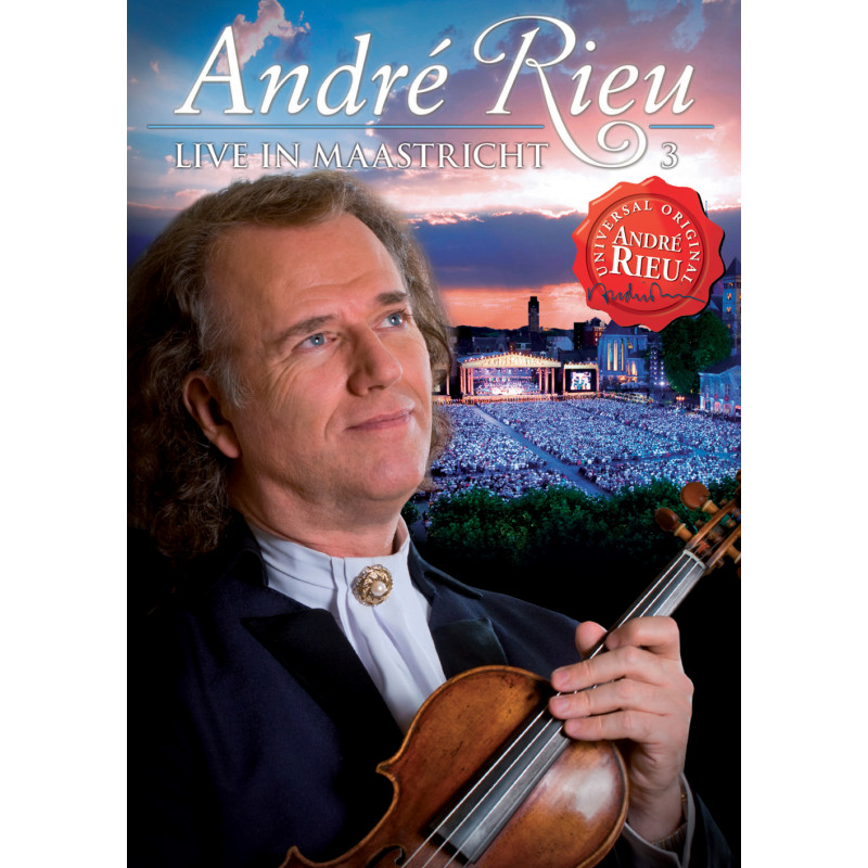 DVD RIEU ANDRE - LIVE IN MAASTRICHT 3