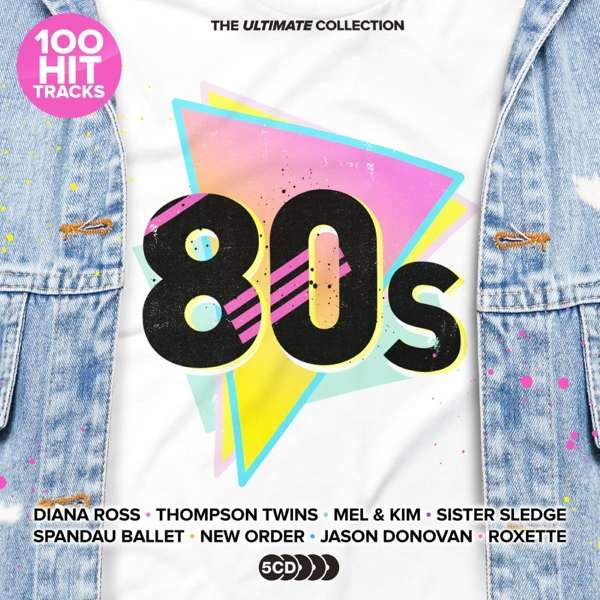 CD VARIOUS ARTISTS - ULTIMATE 80S