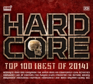 CD V/A - HARDCORE TOP 100 BEST OF 2014