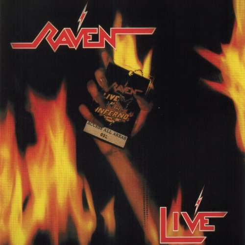 CD RAVEN - LIVE AT THE INFERNO
