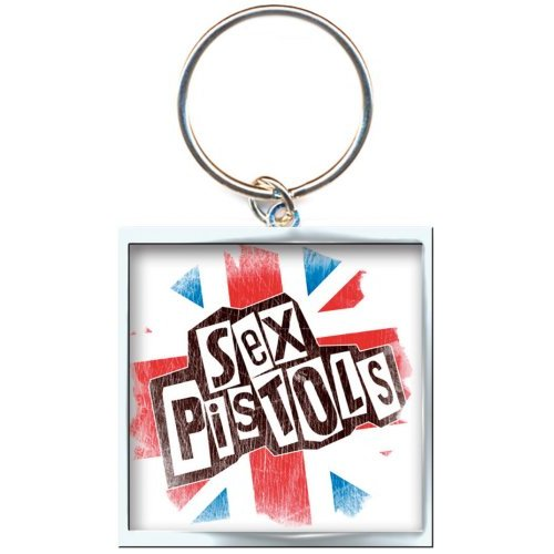 THE SEX PISTOLS - Kľúčenka Union Jack