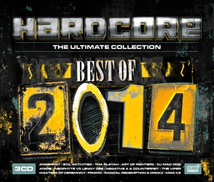 CD V/A - HARDCORE THE ULTIMATE COLLECTION - BEST OF 2014