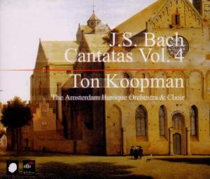 CD BACH, J.S. - COMPLETE BACH CANTATAS 4