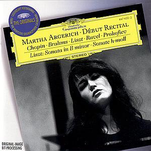 CD ARGERICH MARTHA - ARGERICH - DEBUT RECITAL