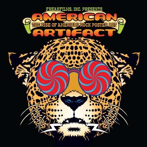 DVD MOVIE - AMERICAN ARTIFACT: THE RISE OF AMERICAN ROCK POSTER ART