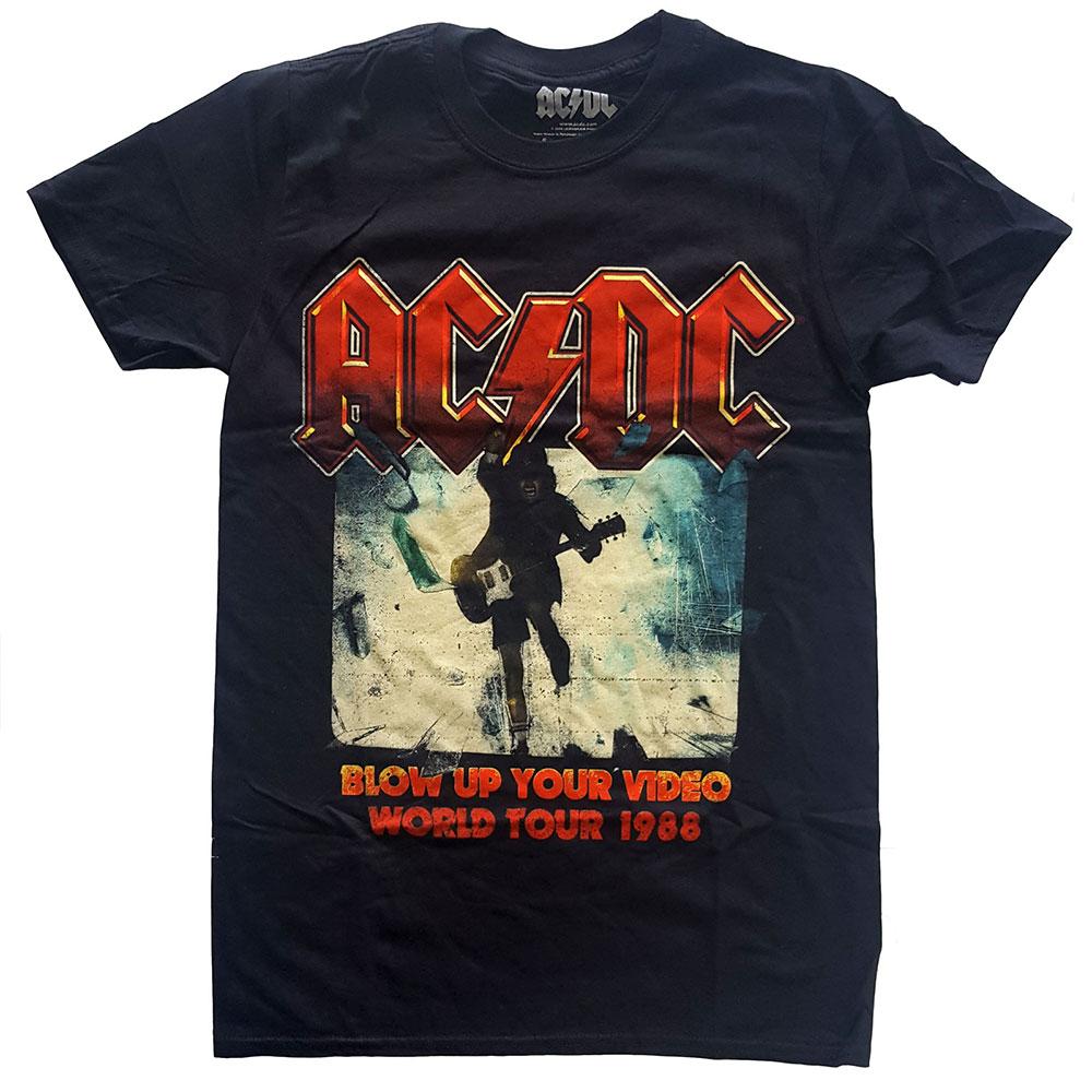 AC/DC - Tričko Blow Up Your Video - Muž, Unisex, Čierna, XL