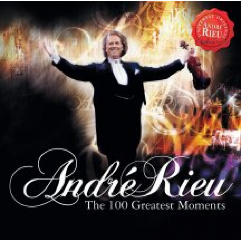 CD RIEU ANDRE - 100 GREATEST MOMENTS