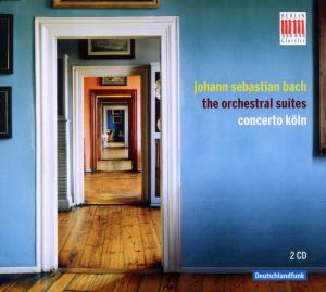 CD BACH, J.S. - ORCHESTRAL SUITES