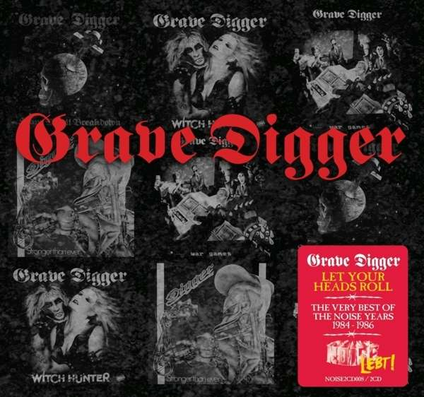 CD GRAVE DIGGER - LET YOUR HEADS ROLL: THE VERY BEST OF THE NOISE YEARS 1984-1987