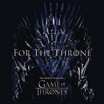CD V/A - For The Throne (Music Inspired
