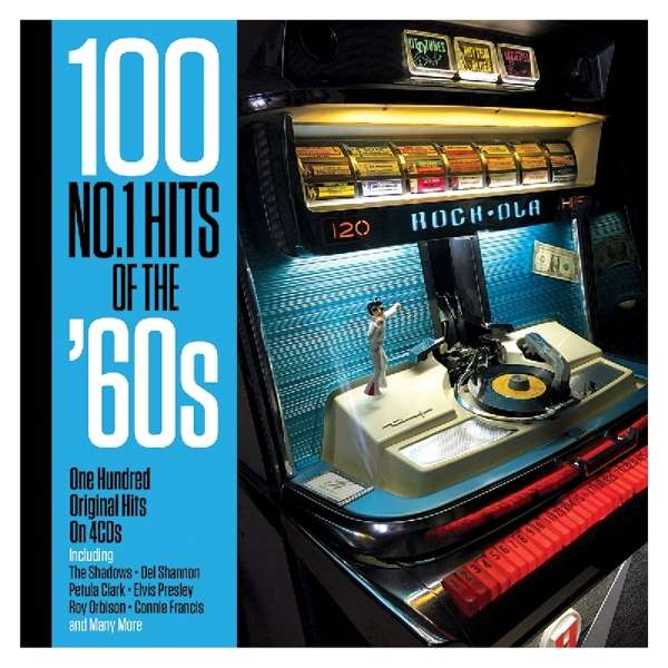 CD V/A - 100 NO.1 HITS OF THE '60S