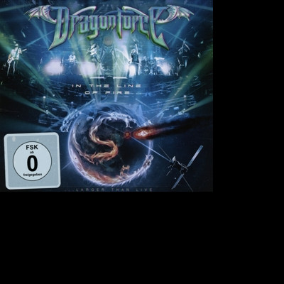 DragonForce - CD IN THE LINE OF FIRE