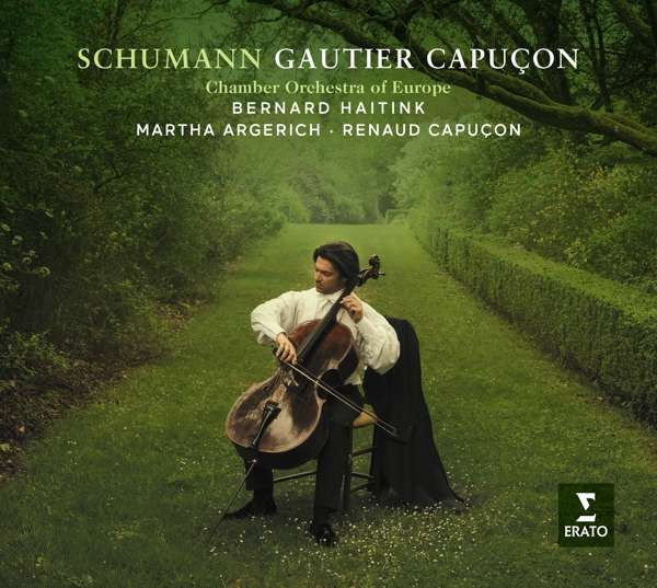 CD CAPUCON/HAITINK/ARGERICH/CAPUCON - SCHUMANN: CELLO CONCERTO & CHAMBER MUSIC WORKS