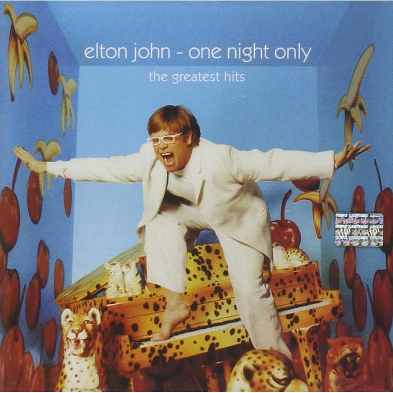 Elton John - Vinyl ONE NIGHT ONLY - THE GH